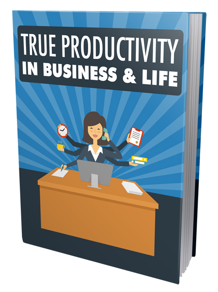 MRR True Productivity in Business & Life