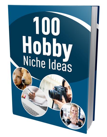 PLR 100 Hobby Niche Ideas