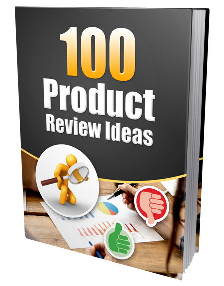 PLR 100 Product Review Ideas