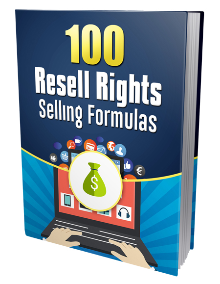 PLR 100 Resell Rights Selling Formulas