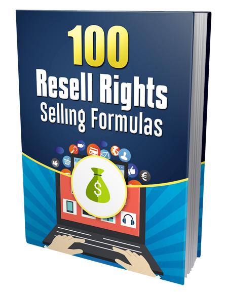 PLR 100 Resell Rights Selling Formulas