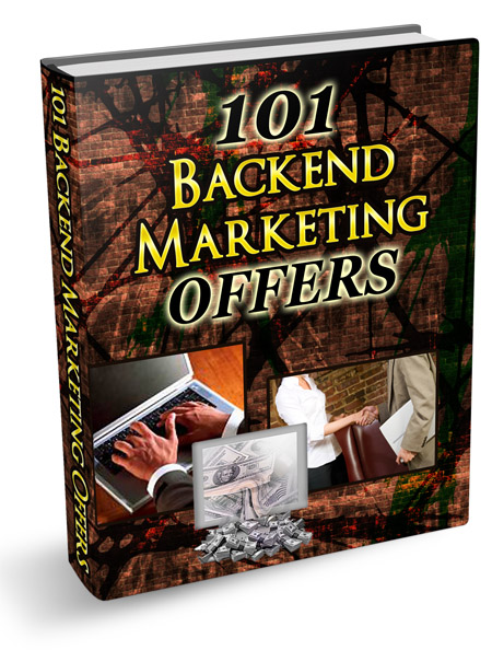 PLR 101 Backend Marketing Offers