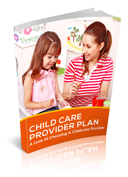 MRR Child Care Provider Plan