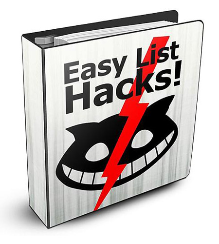 PLR Easy List Hacks