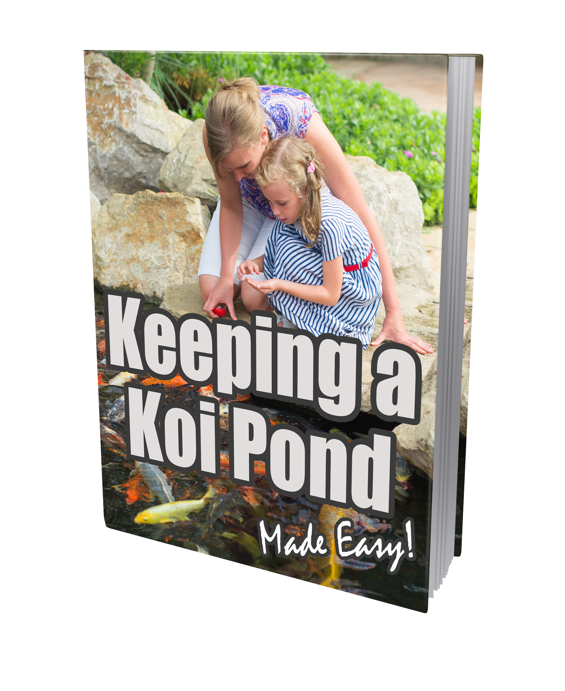 PLR Keeping Koi Pond