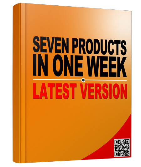 PLR Seven Products in One Week