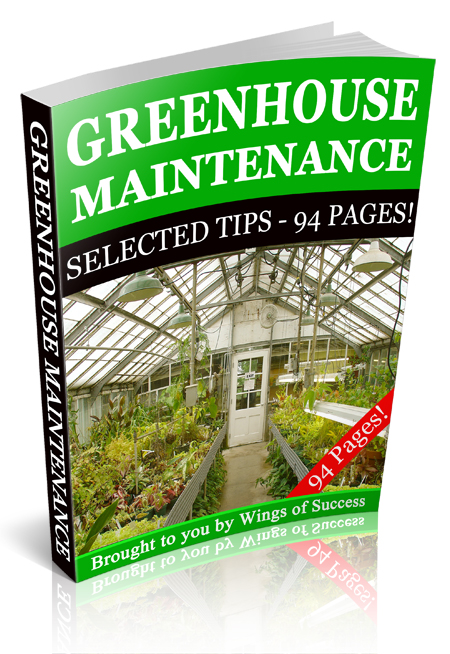 RR Greenhouse Maintenance