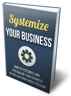 PLR Systemize Your Business